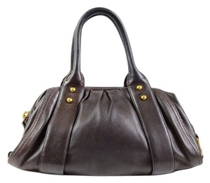 Banana Republic Tote Leather Satchel in Brown
