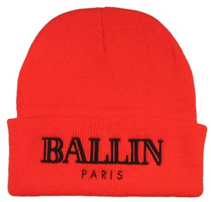Alex & Chloe Alex & Chloe Ballin Orange Beanie