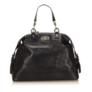 Céline 7ccehb002 Satchel in Black