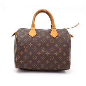 Louis Vuitton Monogram Canvas Speedy Hobo Bag