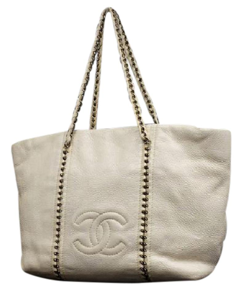 a3819928c053 Chanel Chain Through Chain Around Chain Tote Neverfull Gst Shoulder Bag  Image 0 ...