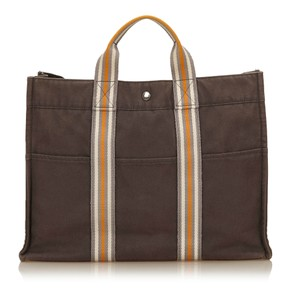 Hermès 7cheto004 Tote in Brown