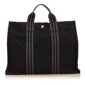 Hermès 7cheto006 Tote in Black