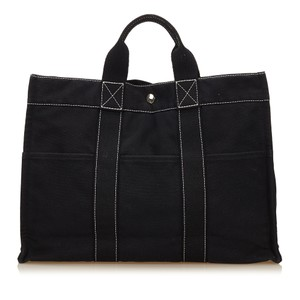 Hermès 7cheto008 Tote in Black