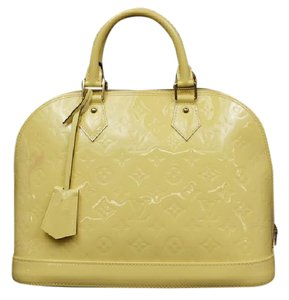 Louis Vuitton Pastel Rare Limited Edition Satchel in Pale Yellow