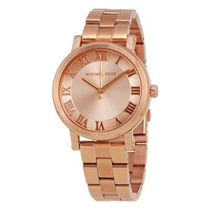 Michael Kors Michael Kors Women's Norie Rose Gold-Tone Three-Hand Watch MK3561