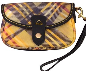 Dooney & Bourke Wristlet in Yellow