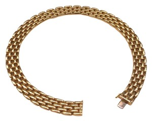 18k yellow gold necklace 18k yellow gold watch band link necklace