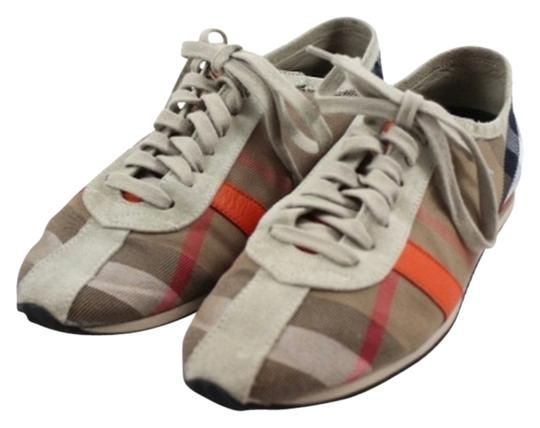 Burberry Plaid Runner Vauxall Sneaker Low Top Lace Up Nova Check Athletic