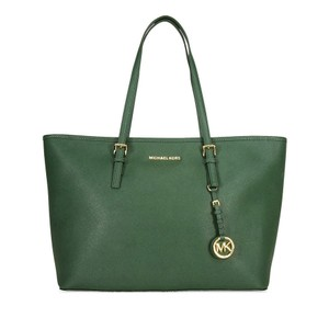 Michael Kors Ladies Leather Leather Tote in Green