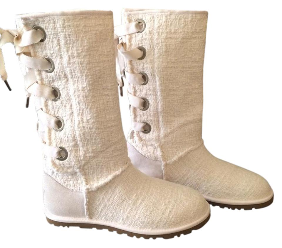 0898450dca3 UGG Australia Natural Heirloom Lace Up/Ugg Boots/Booties Size US 6 Regular  (M, B) 47% off retail