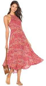 Maxi Dress by Free People Vacation Midi Print Festival