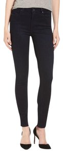 Paige Denim Paige Transcend Hoxton High Waist Skinny Paige Skinny Jeans-Dark Rinse