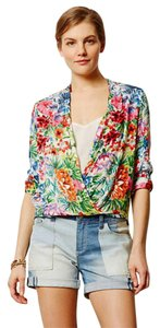 Anthropologie Drape Top NWT Spring Cheer