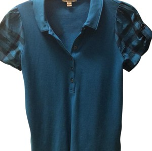 Burberry T Shirt Teal