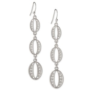 Stella & Dot Stella & Dot Kimberly Earrings in Silver
