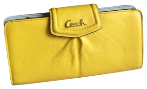 Coach Ashley leather slim