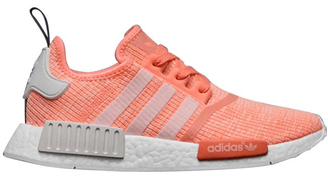 Item - Bright Coral Nmd_r1 Sunglow Sneakers Size US 7.5 Regular (M, B)
