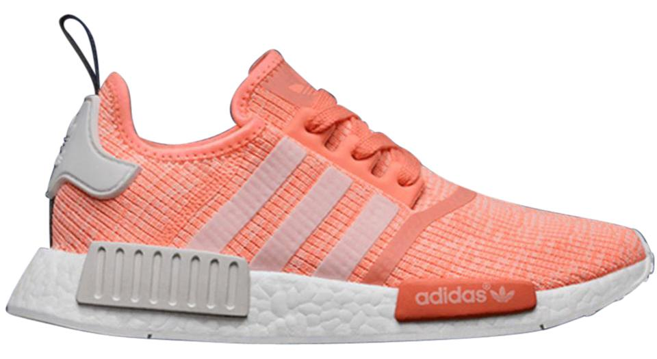 1760c23696b adidas Bright Coral Nmd_r1 Sunglow Sneakers Size US 7.5 Regular (M, B)