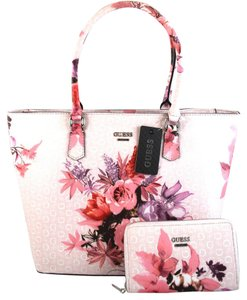 Guess Tote in Pink Blush