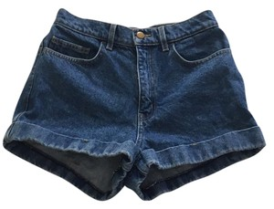 American Apparel Cuffed Shorts denim