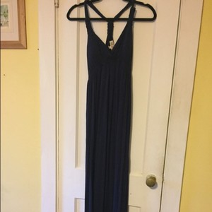 navy blue Maxi Dress by Pink Rose