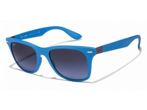 Ray-Ban RB4195-60848F Liteforce Unisex Blue Frame Blue lens Sunglasses