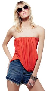 Free People Top Fiesta Red