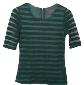 Anthropologie Top Forest Green
