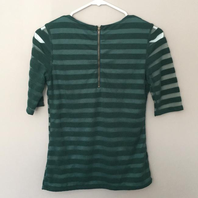 Anthropologie Top Forest Green Image 1