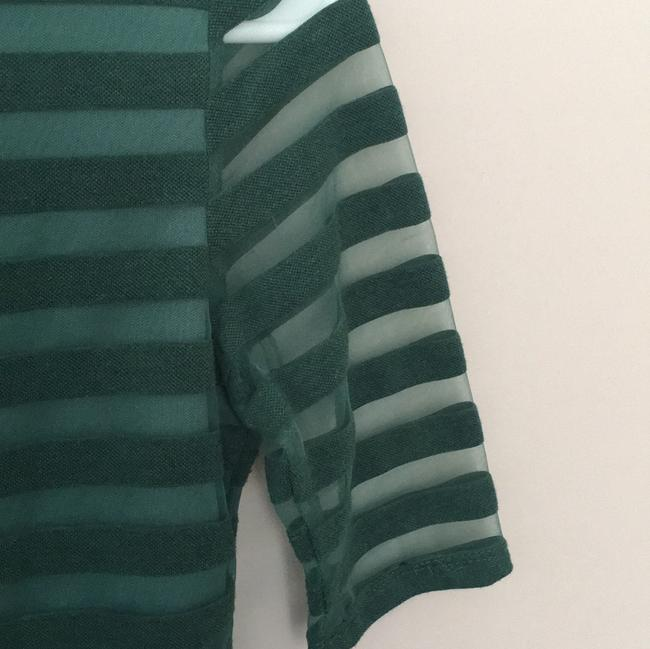 Anthropologie Top Forest Green Image 2