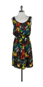 Alice + Olivia short dress Floral Print Silk Sleeveless on Tradesy