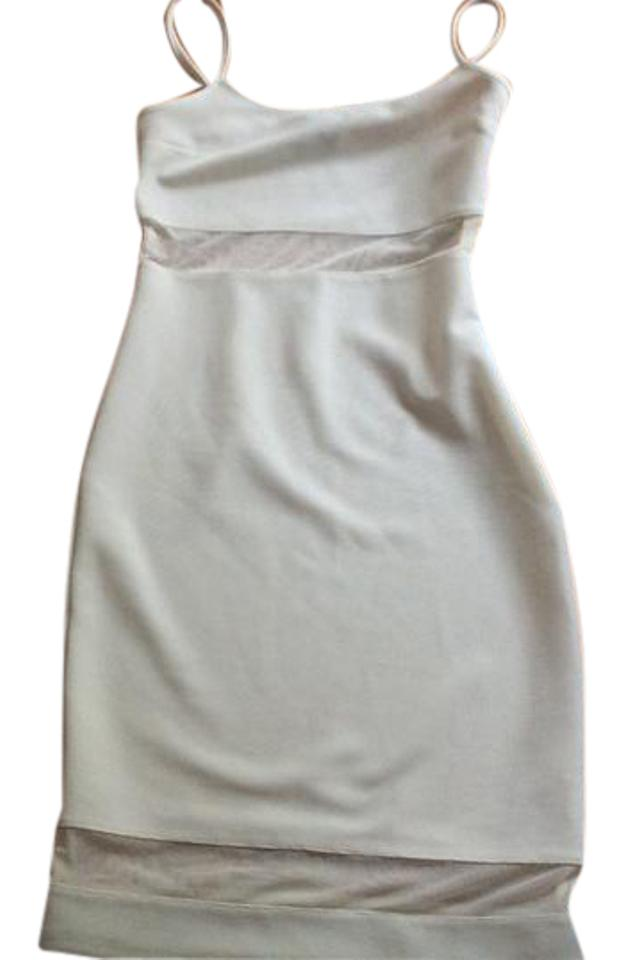 884a24ef007c Topshop White From Nordstrom Rack Mid-length Night Out Dress Size 4 ...