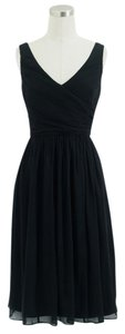 J.Crew Silk Chiffon Sleeveless Bridesmaid A Line Dress