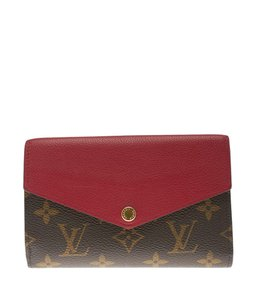 Louis Vuitton Portefeuille Pallas Compact Monogram Canvas & Leather Wallet (120853)