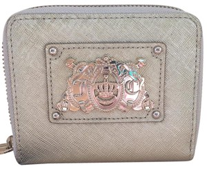 Juicy Couture Small Leather Zip Around Wallet