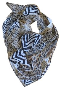 Anthropologie Animal Print Scarf