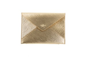 Louis Vuitton Epi Leather Envelope Gold Clutch