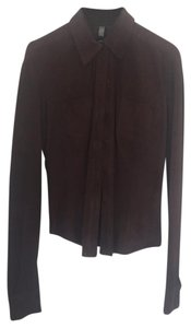 Laundry by Shelli Segal Button Down Shirt chocolate