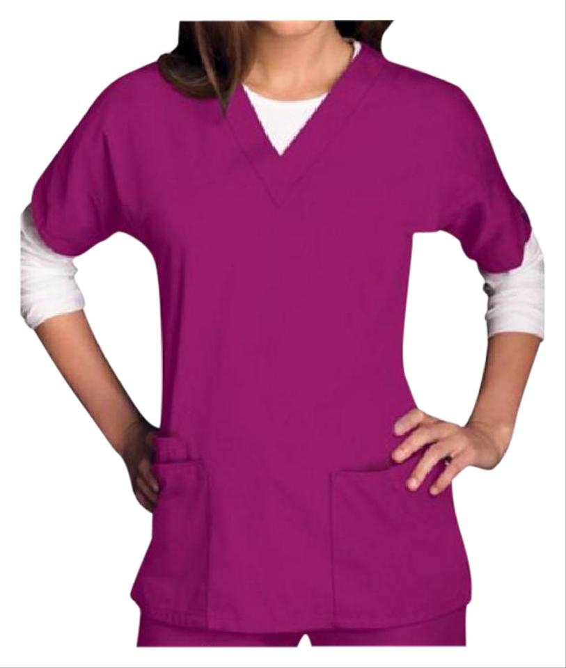 628ea5510d1 Raspberry Workwear Women's 4700 V-neck Scrub Blouse. Size: US 4 (S). $11.55  Shipping Included. Retail Price: $19.99. View Original Listing. Cherokee  Top ...