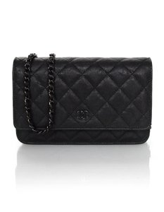 Chanel So Woc Classic Quilted Cross Body Bag