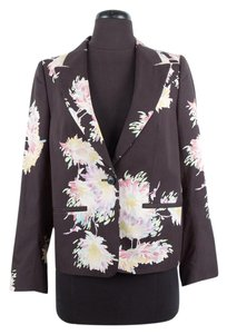 Dries van Noten Floral Black Blazer
