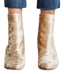 Jeffrey Campbell X Free People light gold Boots