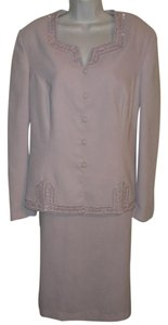 John Meyer of Norwich JOHN MEYER Lavender Embellished Suit SZ 16