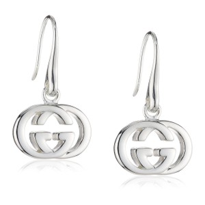 3ce19b8c919 Silver Gucci Earrings - Up to 90% off at Tradesy