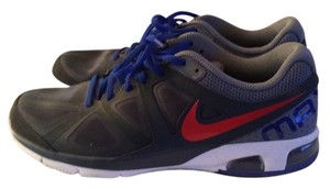 Nike Dark Gray & red blue lace Athletic