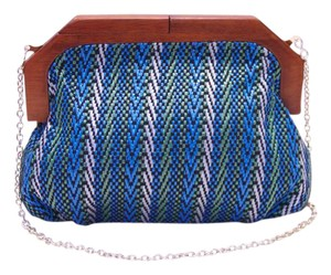 Straw Studios Blue Clutch