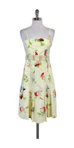 Maeve short dress Floral Multi Color Printed on Tradesy