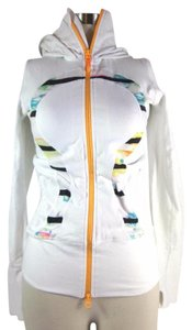 Lululemon White & Multicolor, Warm-Up Jacket/Top - Sz: 4