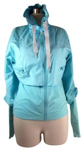 Lululemon Aqua Blue, Warm-Up Jacket/Top Sz: 6
